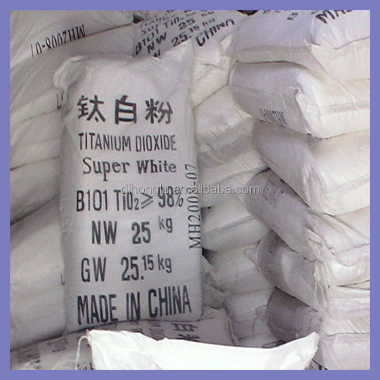 Titanium dioxide Rutile TiO2 sulfuric and chloride process for coating