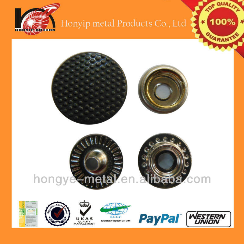 lead free embossed dots china metal buttons factories