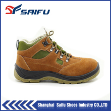SF1802 safety shoes plastic toe cap