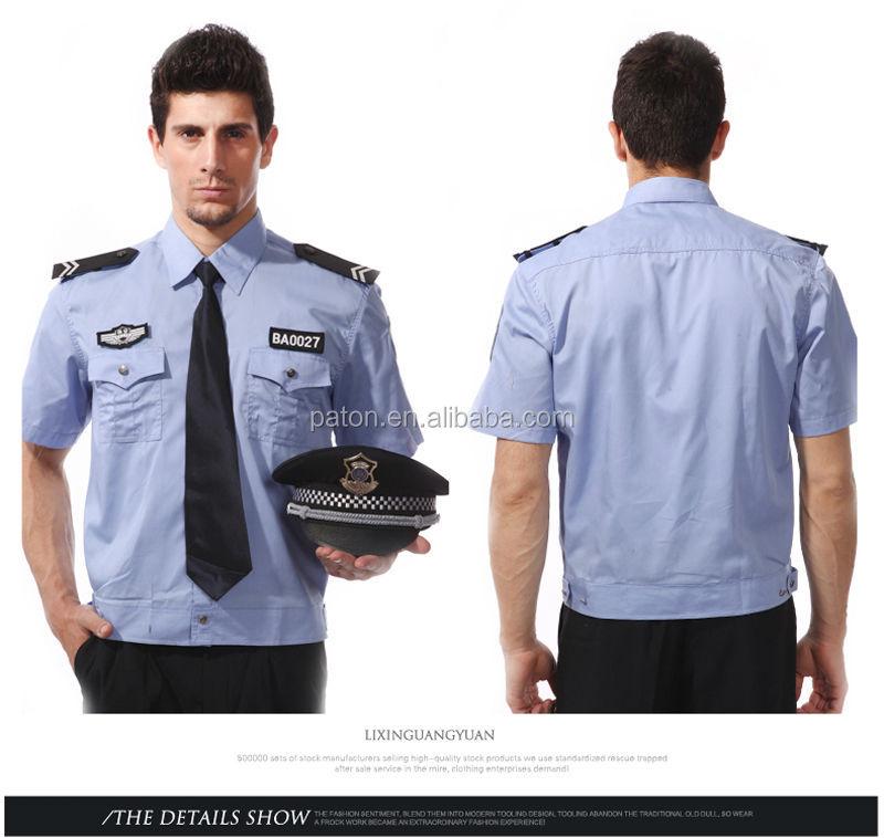 Cheap Security Shirt Uniform,Customize Security Guard Uniform ...
