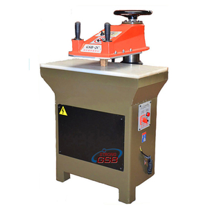 swing arm leather shoe sole cutting machine/clicker press cutting machine