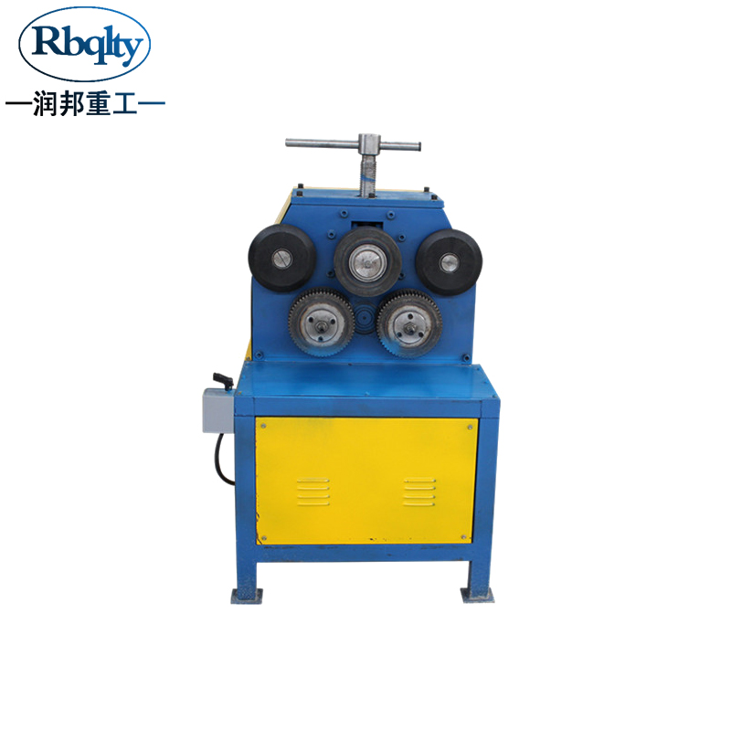 top quaity and reasonable price JY-40 electric angle steel roll forming machine , round flange bending roller