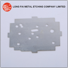 Customized bended stainless steel parts with shielding