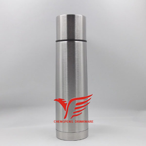 Daily use items stainless steel vacuum flask with push button small thermos flask