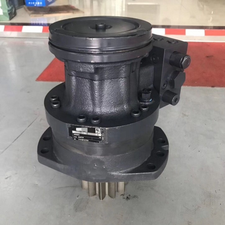 original new excavator hydraulic swing device 14636561 VOE14636561 swing motor assy EC80D slewing motor with reducer