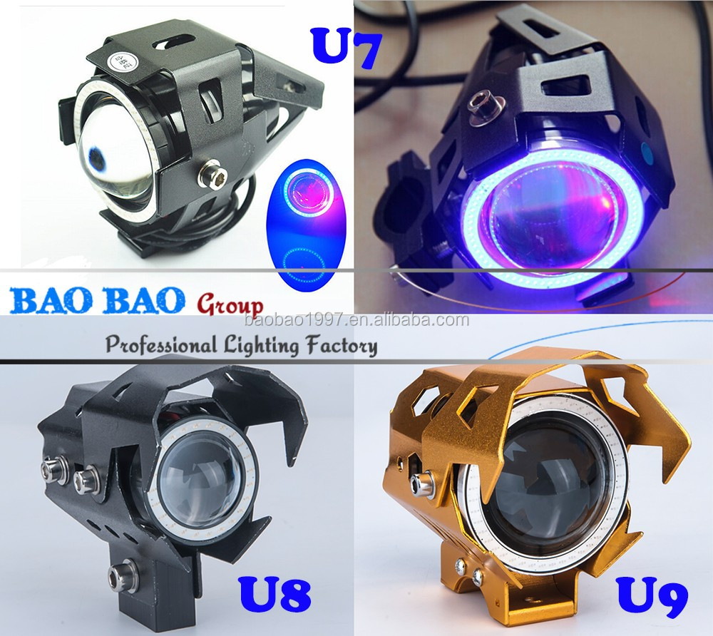 7inch Round Led Headlight 12V Motorcycle LED Headlight Headlamp for wrangler