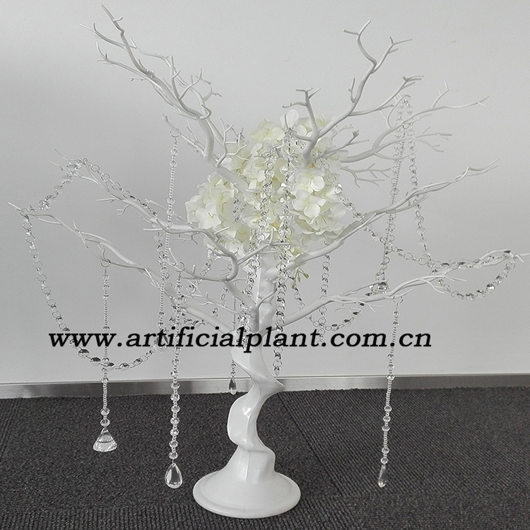 Wf08141 New White Crystal Manzanita Tree Wedding Table Decoration Centerpieces 40