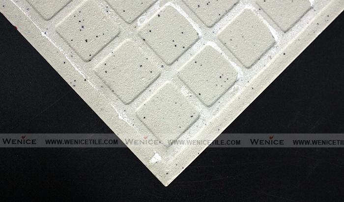 Bagno non pavimento di piastrelle in ceramica antiscivolo