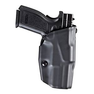 Safariland 6379-283-411 ALS Clip-On Style Holster, for Pistols, Right Hand, Plain Black