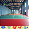 Indoor badminton PVC synthetic sports flooring surfaces