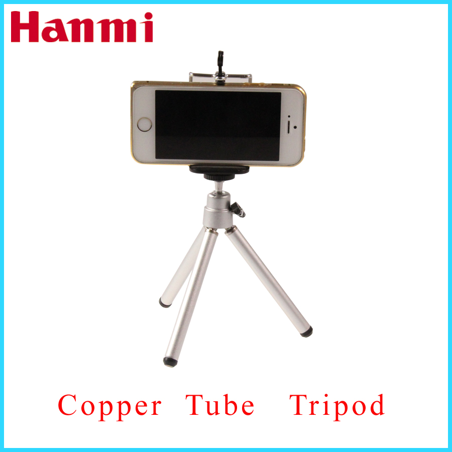 2 In 1 Mini Flexible Tripod + Phone Holder Bracket Holders Stand