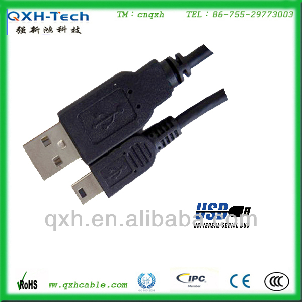 High speed USB 2.0 AM to mini 5p USB cable