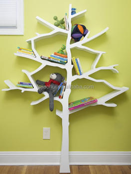 Bookshelves Living Room Set modern living room furniture kindergarten lovely fiberglass tree