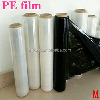 the high quality PE shrink film/pe heat shrink film/lldpe pe stretch wrap film price