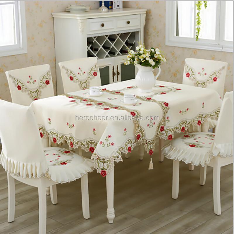 Venta al por mayor orillas tejidas para manteles compre - Manteles mesas grandes ...