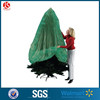 Green film recycled plastic Christmas tree bag storage bag removal bag