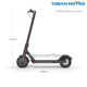 China factory new xiaomi folding electric scooter for adult with LED light
