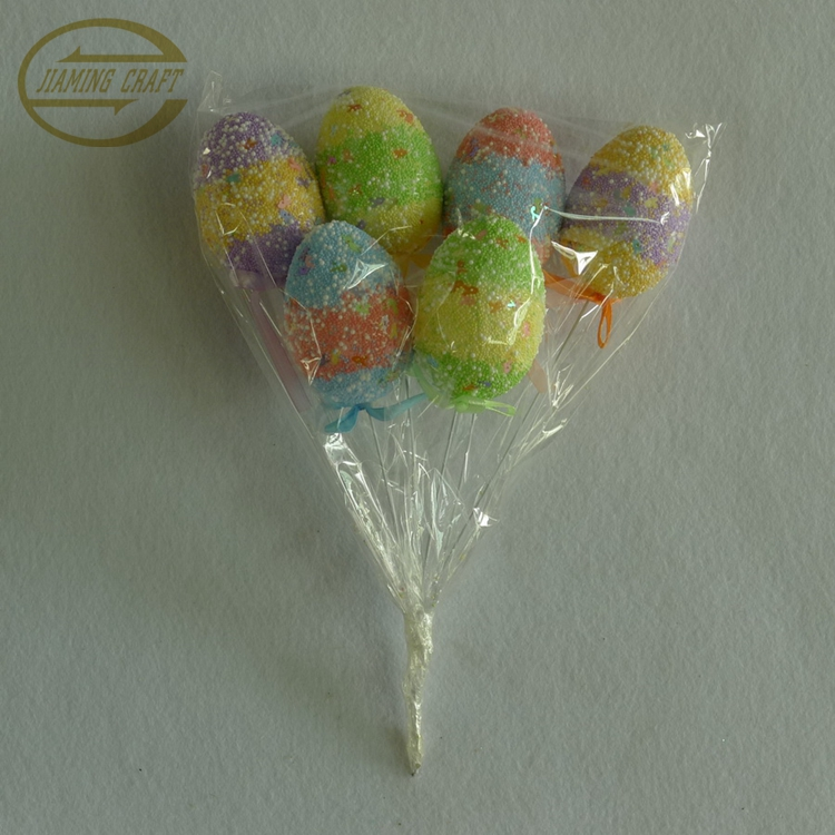 5*7cm easter foam egg sticks