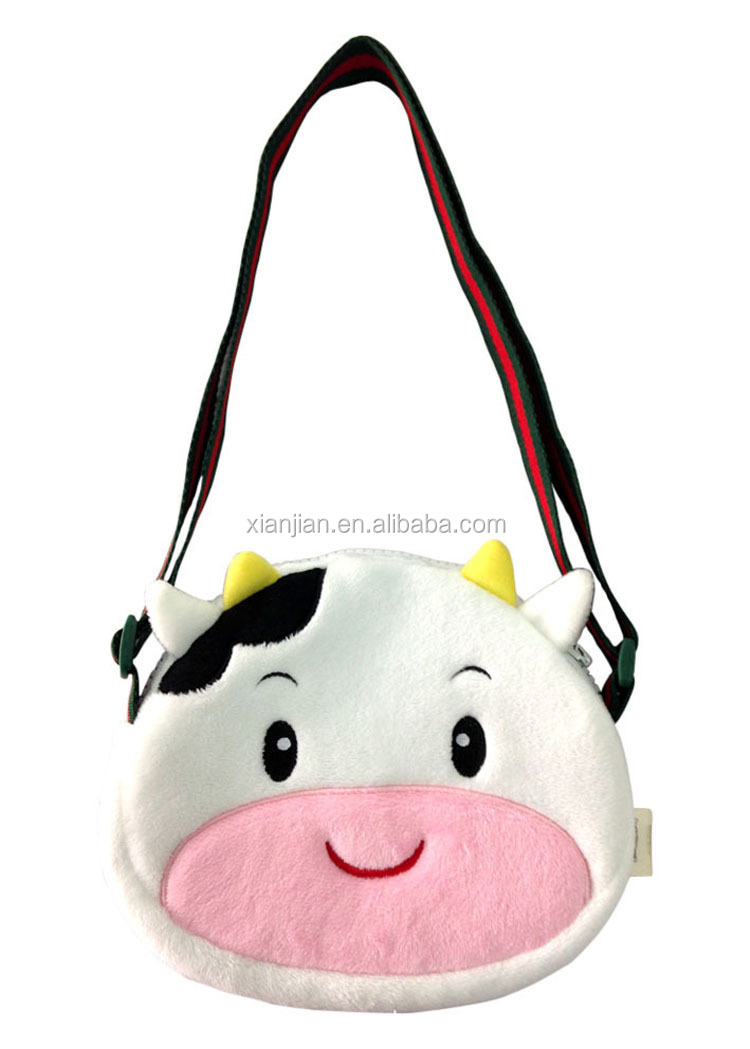 Factory Sale Quality Plush Animal Shaped Kids Sling Bag Shoulder ...