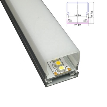 Square Type Aluminum Led Profile for Ceiling or Wall Lamps