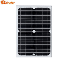 Shinefar grade A quality mono 10w 20w 30w mini solar pv panel for sale
