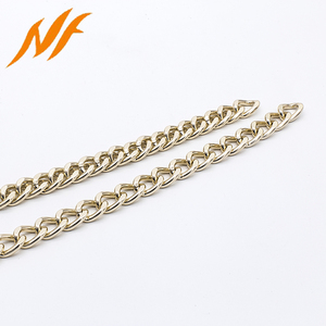 light gold purse wallet handle metal chain for bag accessory