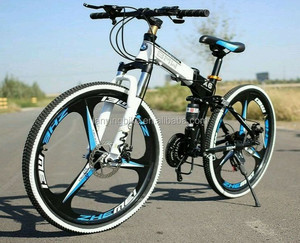 alibaba folding mountain bike mtb bicycle for men /China steel mountain bike/26 inch downhill mountain folding bike