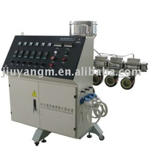Laboratory Mini PP / PE Plastic Single Screw Extruder with cylinder