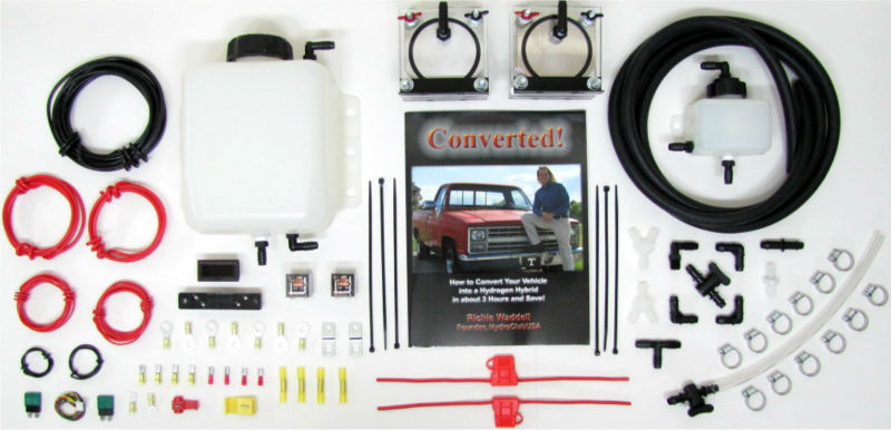 HHO DRY CELL KIT HYDROGEN GENERATOR FUEL ECONOMY MPG BROWNS GAS ELECTROLYZER