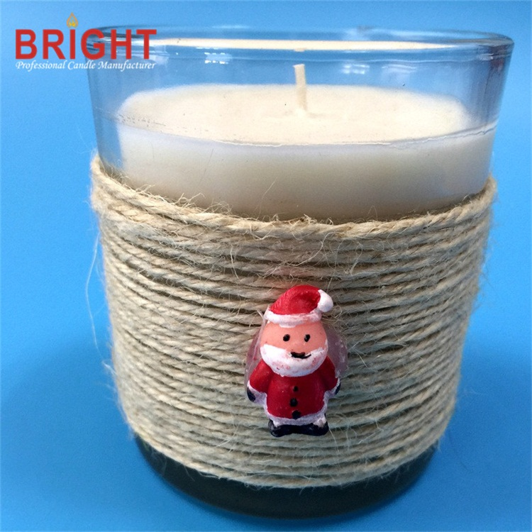 Private label lowboy christmas xmas made in china candle