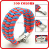 wholesale cheap trilobite bracelet cross paracord bracelet metal buckle