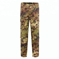 Xinxing Police Military ACU Italy Woodland Digital Camo CVC50/50 Ripstop Polycotton Army Combat ACU Pants Tactical Pants LD16