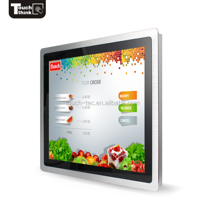 17inch pot o gold ktv rs232 touch screen monitor