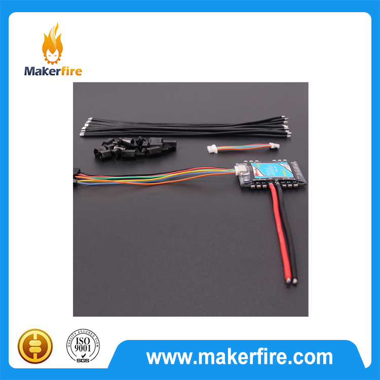 Makerfire Micro brushless ESC 20A Supports OneShot(125-250us)For FPV rc Drone quadcopter