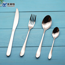 spoon knife forks simple design antique cutlery