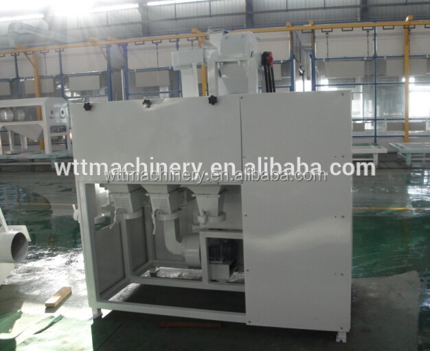 for small factoryTQNF-15 Multifunctional maize grit and flour processing machine