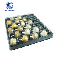 Plastic customize macaron tray packaging 48 pieces
