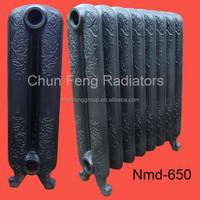 Floor Standing Heater Of The Room, Old Style Heating Radiator