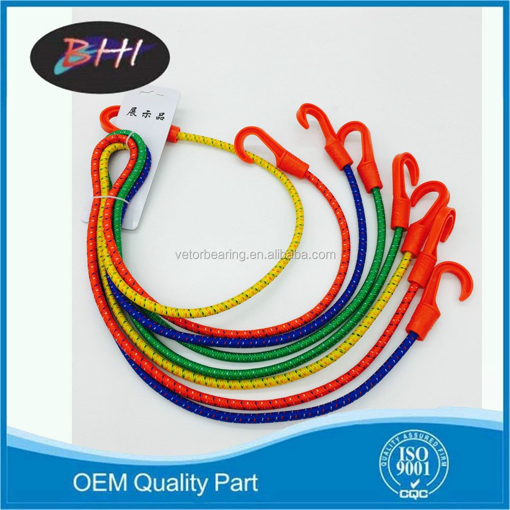 Colorful motorcycle luggage elastic rope
