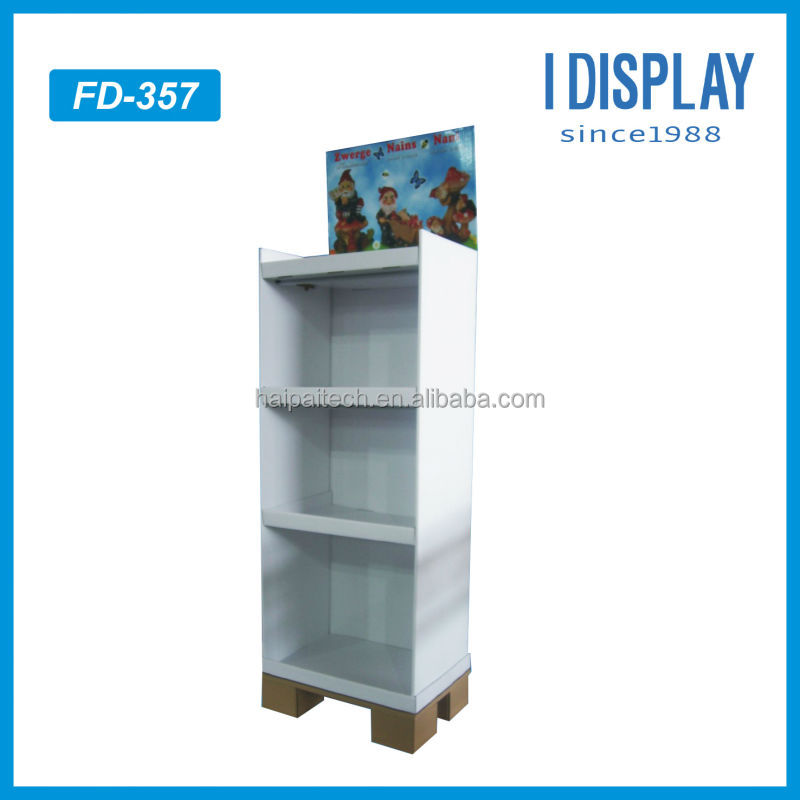 high quality tv stand display paper display stand for trade shows