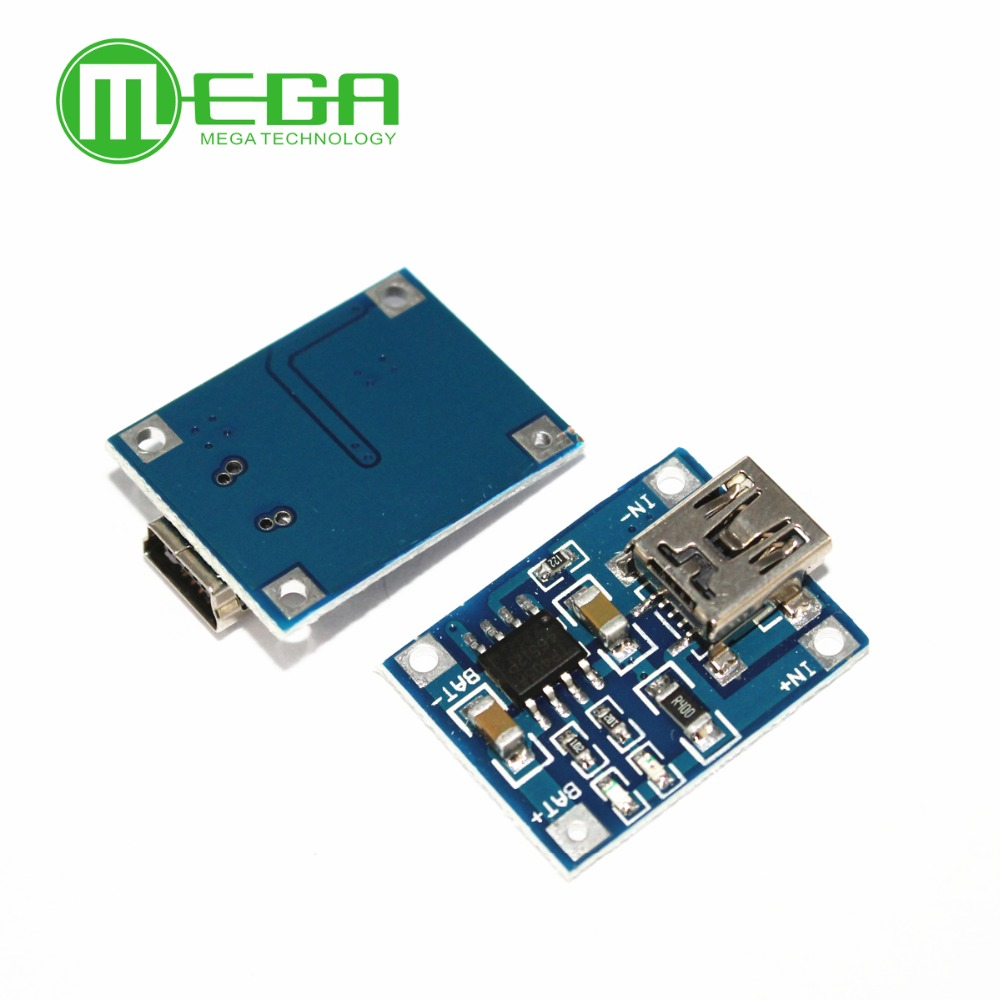 Lithium Battery Charger Module Board mini 5v USB 1A li-ion Battery charger TP4056 module 18650 DIY