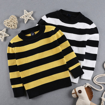 5125668f Fashion Design Kids Boys Hand Knitted Round Neck Stripe Sweater From China  Factory - Buy Sweater Designs For Kids Hand Knitted,Boy Sweater,Sweater ...