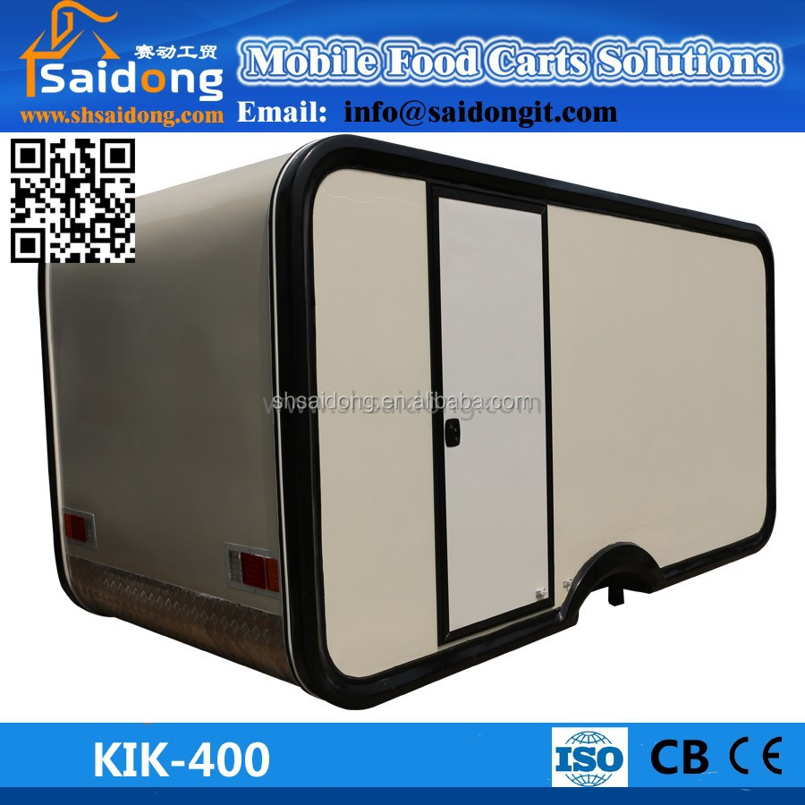 Mobile Caravan Trailer For Sale From China Mobile Buffet Car ...
