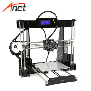 Anet A8M dual extruder double large format 3d printer machine with lcd display