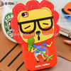 2013 newest designed silicone phone case / cute shape Silicone phone case / no lead or metals phone case cover