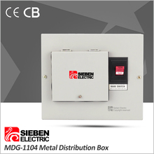230V AC plug-in fuse mcb electrical enclosure distribution box cabinet