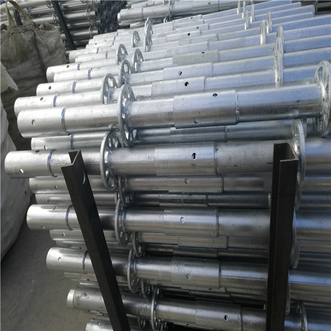 Building Material Construction Steel Round Scaffolding Sale Galvanized Ring Lock Scaffold Tower