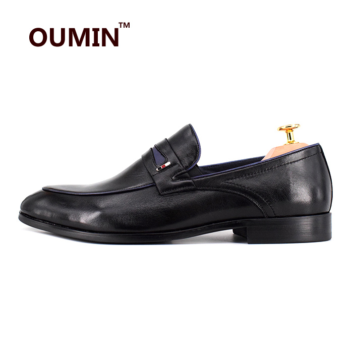 wholesale cow men leather loafers penny dress shoes formal Men nRxOTfO