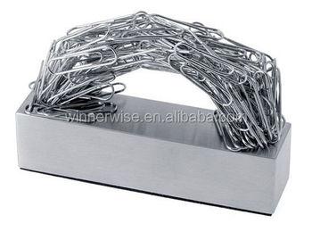 magnetic paper clip holder