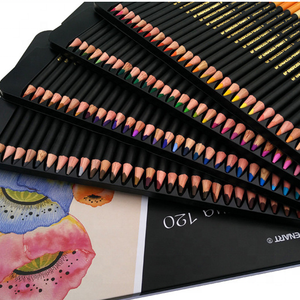 Artist Grade 72/120 Color Pencil Sets, Art Color Pencil Water Paint Set